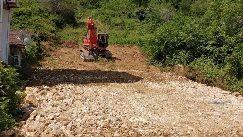 Giresun Belediyesi'nin üst yapı çalışmaları devam ediyor