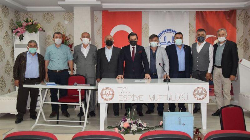 Köylere Hizmet Götürme Birliği üyelik seçimi yapıldı