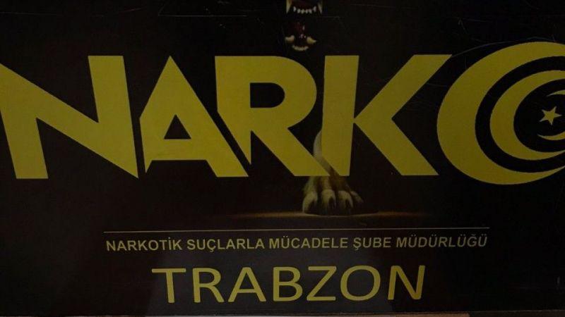 Trabzon'da sentetik uyuşturucu ele geçirildi