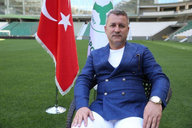 Giresunspor Kulübü Başkanı Hakan Karaahmet'in hedefi Süper Lig'de kalıcı olmak