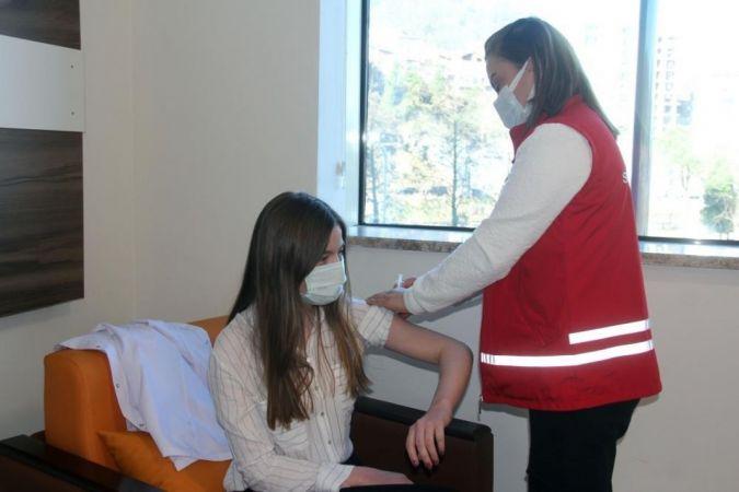 Giresun'da 280 bin dozun üzerinde aşı yapıldı