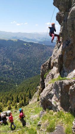Giresun Kümbet Yaylası kaya tırmanıcılarının da gözdesi olacak