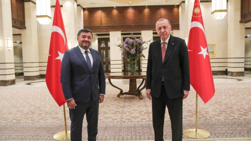 Aytekin Şenlikoğlu ile Cumhurbaşkanı arasında özel görüşme!