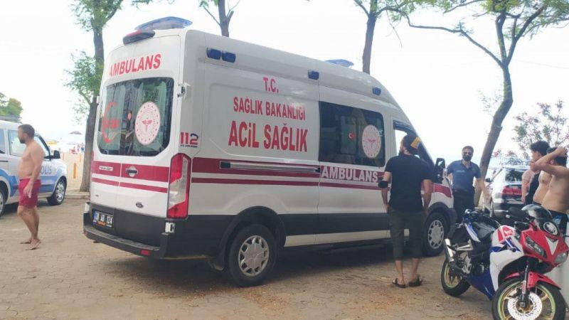 Giresun'da boğulma tehlikesi geçiren 2 kişi tedavi altına alındı