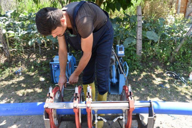Giresun Belediyesi'nden içme suyu çalışması