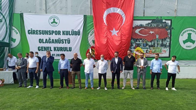 Giresunspor'un yeni yönetimi belli oldu