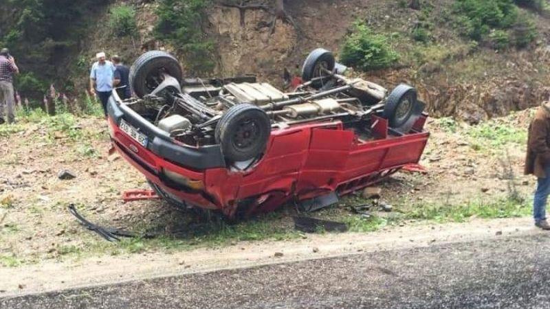 Trabzon'da trafik kazası: 5 yaralı