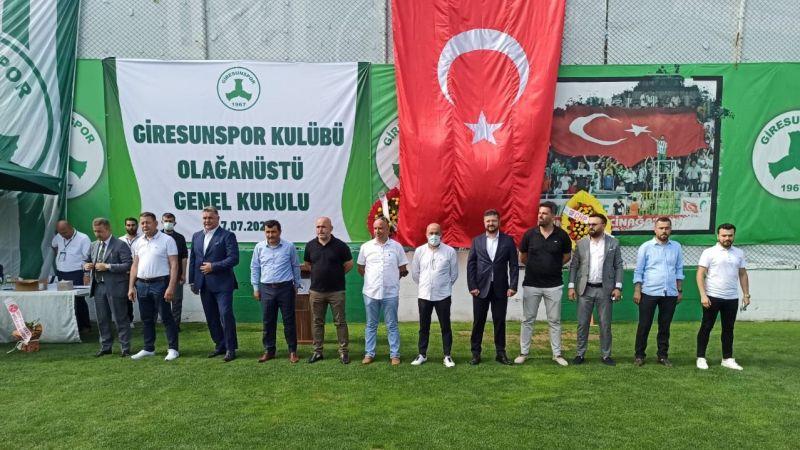 Giresunspor'un yönetim kurulu görev dağılımı yapıldı