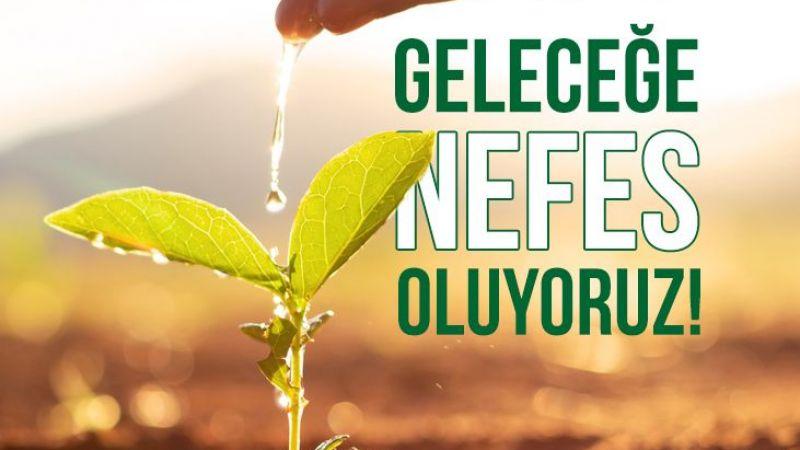 Giresunspor'dan 1967 fidan bağışı