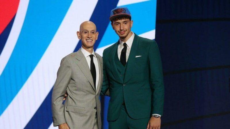 Giresunlu Alperen Şengün, NBA'de Houston Rockets forması giyecek
