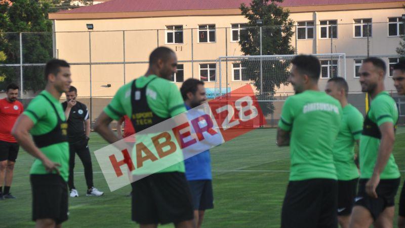 Flavio Giresunspor ile ilk antrenmanına çıktı!