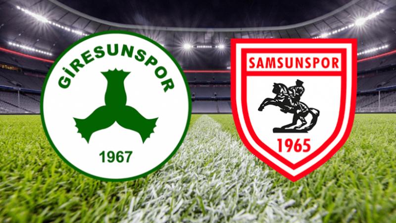 Giresunspor ile Samsunspor hazırlık maçı oynayacak
