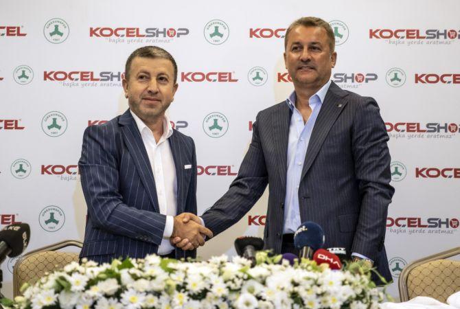 Giresunspor, KOÇEL AŞ ile sponsorluk anlaşması imzaladı