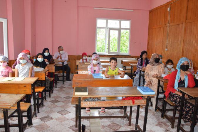 Espiye Belediye Başkanı Karadere, yaz Kur'an kurslarını ziyaret etti