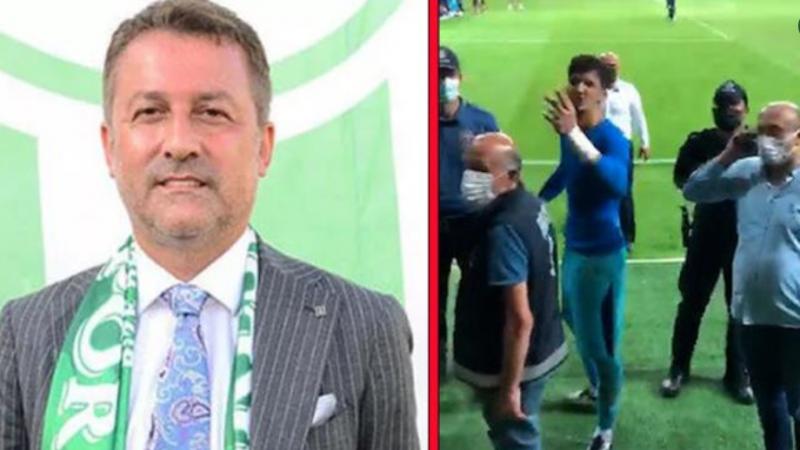 Giresunspor Başkanı Karaahmet, Altay Bayındır'dan özür diledi