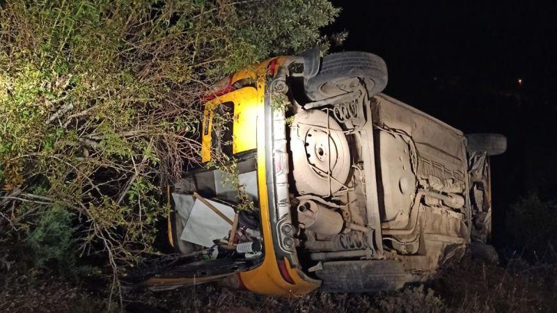 Giresun'da taksi ile ambulans çarpıştı: 1 ölü