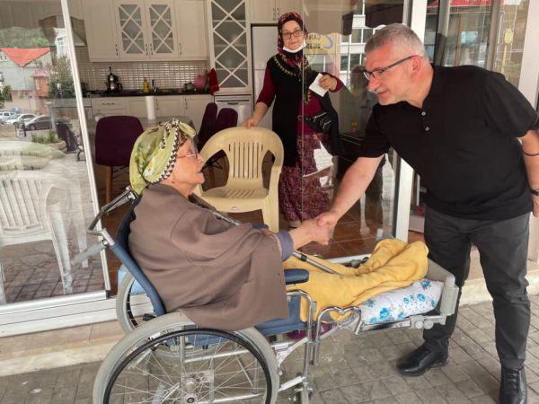 AK Parti Giresun Milletvekili Aydın, Çanakçı ilçesini ziyaret etti