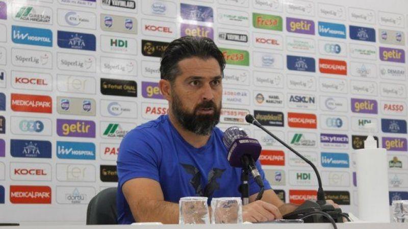 "İlhan Palut: ""Giresunspor'a karşı alınan bir puan normal"""