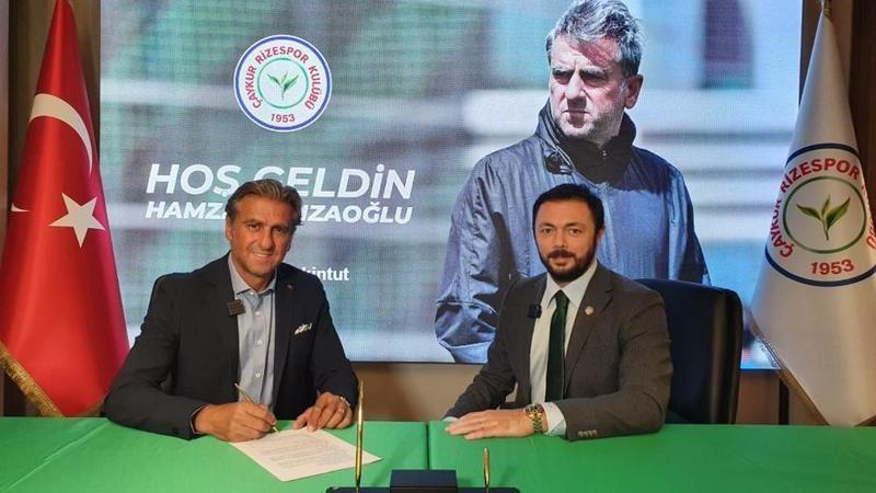 ÇaykurRizespor, Hamza Hamzaoğlu ile anlaşmaya vardı