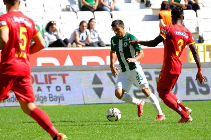 GZT Giresunspor: 1 - Kayserispor: 1 (Maç sonucu)