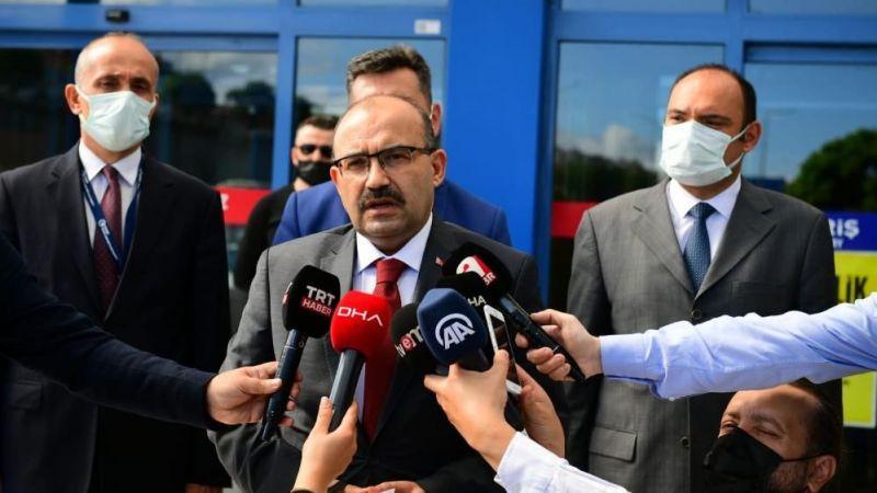 """Trabzon Valisi Ustaoğlu: """"Bomba ihbarı Kuveyt Havayolları Genel Merkezine yapıldı"""""""