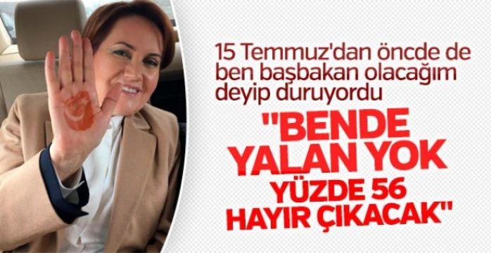 Meral Akşener'den iddialı referandum tahmini