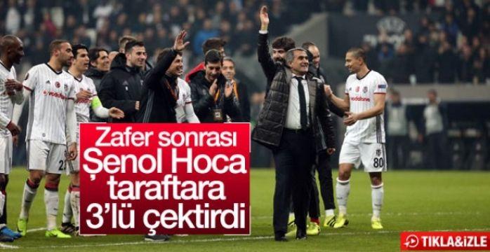 Şenol Güneş Olympiakos maçı sonrası üçlü çektirdi