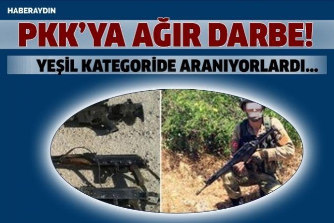 Terör örgütünün 2 kritik ismi öldürüldü