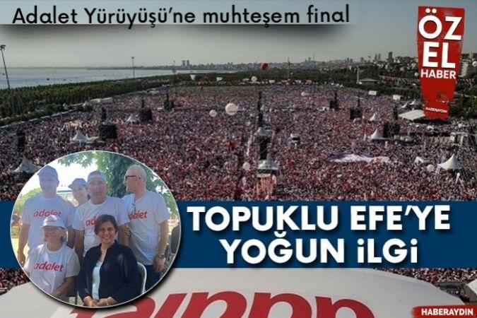 Kemal Kılıçdaroğlu, CHP'nin 'Adalet Mitingi'nde konuştu