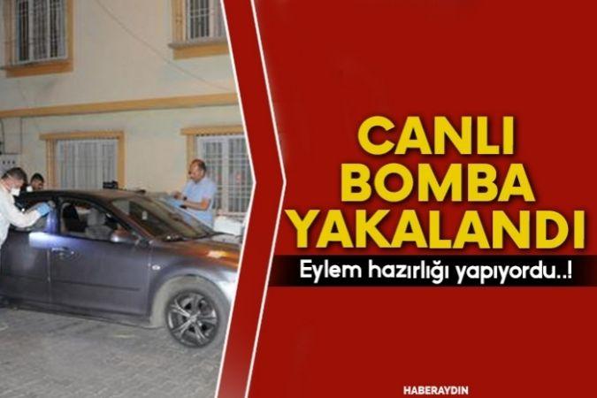 Canlı bomba yakalandı: Üzerinde bomba yeleği ile kıskıvrak!