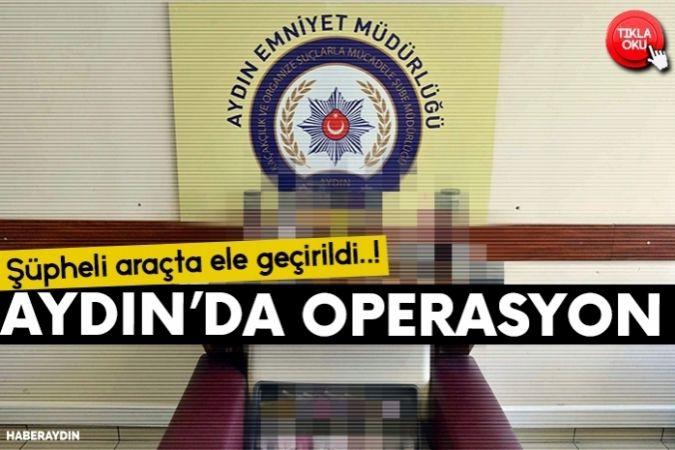 Aydın'da elektronik sigara operasyonu