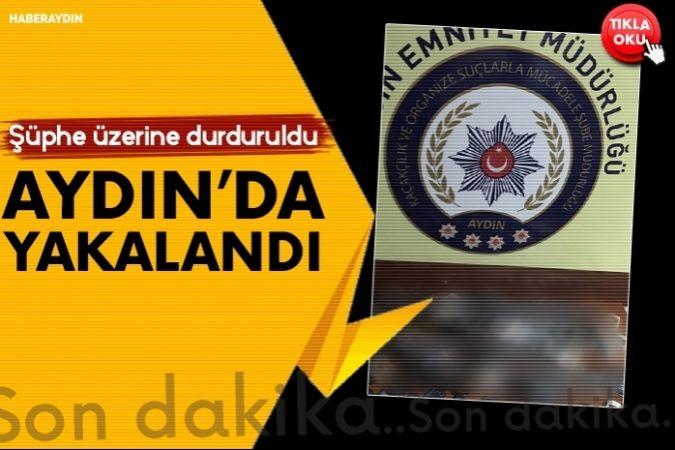 Aydın'da 73 adet kaçak cep telefonu yakalandı