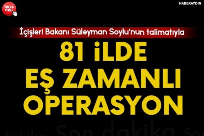 """81 ilde """" Türkiye huzurlu parklar"""" uygulaması yapıldı"""