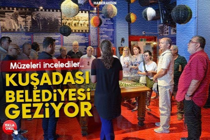 Kuşadası Belediyesi'nden Bursa'daki müzelere ziyaret