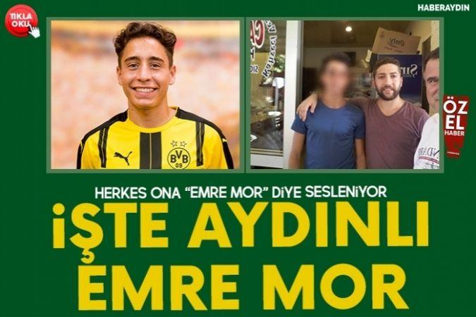"""HERKES ONA """"EMRE MOR"""" DİYE SESLENİYOR"""