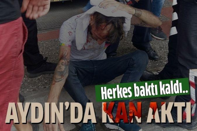 Sopalı bıçaklı kavgada kan aktı: 2 yaralı