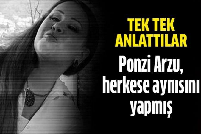 Ponzi Arzu'nun mağdurlarından inanılmaz ifadeler!