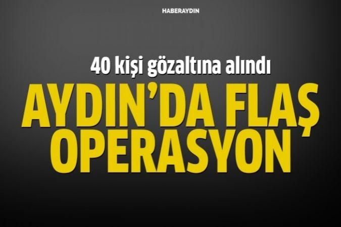Aydın'da ByLock operasyonu: 40 gözaltı