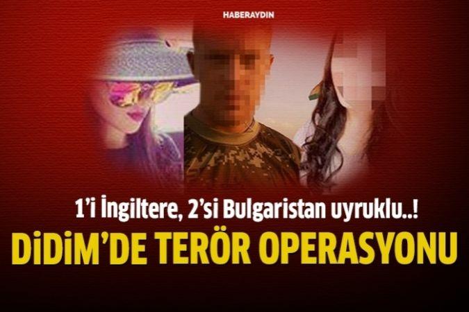 Didim'de gözaltına aldılar
