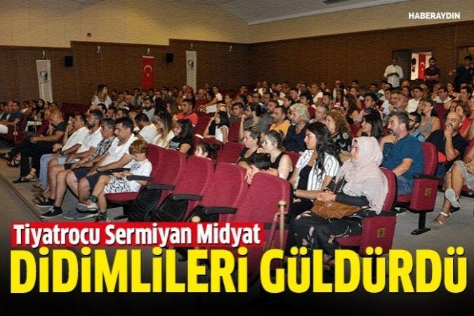 Tiyatrocu Sermiyan Midyat, Didimlileri güldürdü