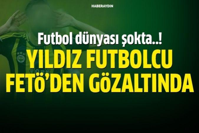 Futbolcu Bekir İrtegün, FETÖ'den gözaltına alındı.