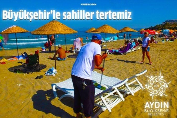 Büyükşehir ile sahiller pırıl pırıl