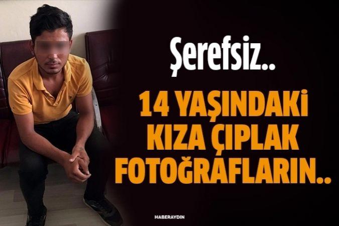 """14 yaşındaki kızı """"çıplak fotoğrafını montajlamışlar"""" diye dolandırmak istedi"""