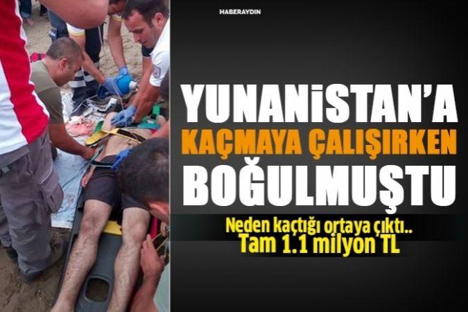 Kuşadası'ndan Yunanistan'a kaçmaya çalışırken ölen müdür 1,1 milyon TL'yi zimmetine geçirmiş
