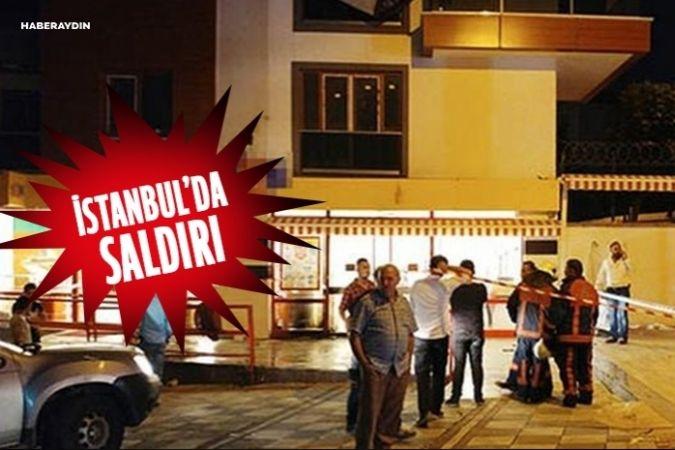 İstanbul'da markete molotoflu saldırı