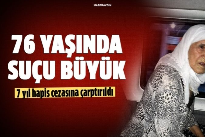 Hırsızlıktan yakalanan 76 yaşındaki kadın 7 yıl hapis cezası aldı
