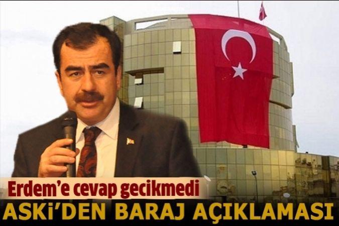 Aydın ASKi'den Mehmet Erdem'in iddialarına cevap