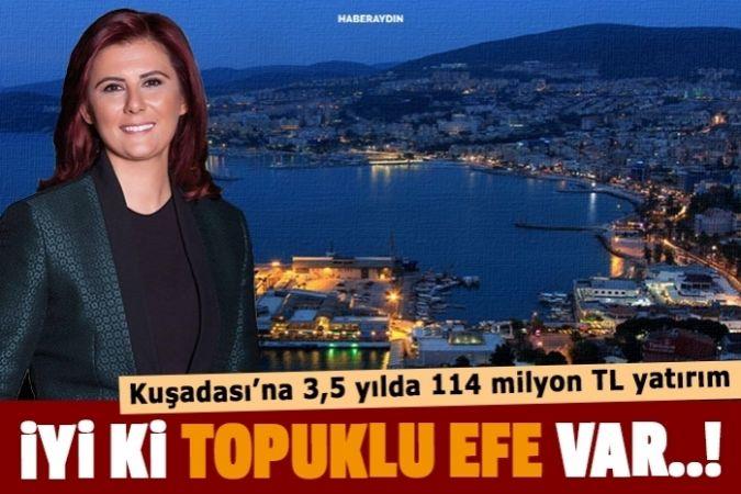 Turizmin incisi Kuşadası'na 3,5 yılda 114 milyon TL'lik yatırım