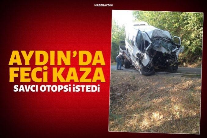 Virajı alamayan aracın şoförü hayatını kaybetti