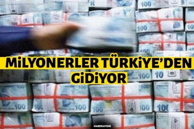 Milyonerler Türkiye'yi terk ediyor
